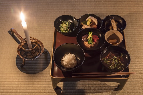Tenshin(Buddhist's Vegetarian food)
